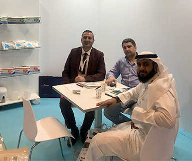 AS Kaf Grup company , we hosted our guests at ARAB HEALTH 2019 Dubai fair.