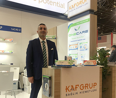 AS Kaf Grup company , we hosted our guests at MEDICA 2018 Dusseldorf fair.
